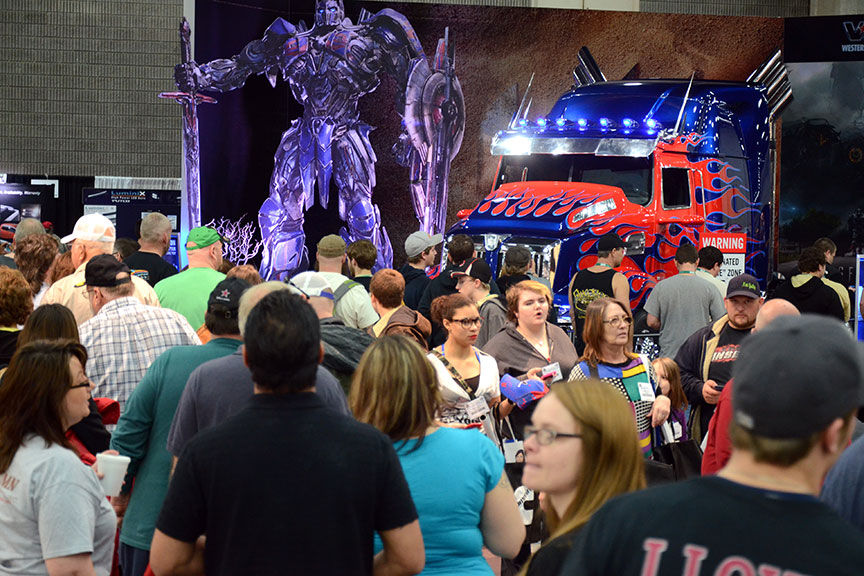 Optimus Prime Truck at MATS